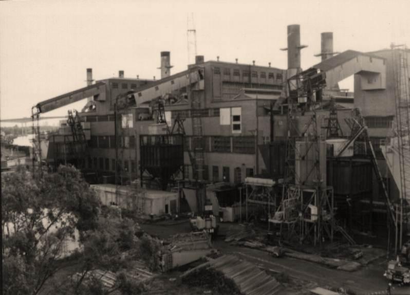 Bulimba Power station super heater 1975