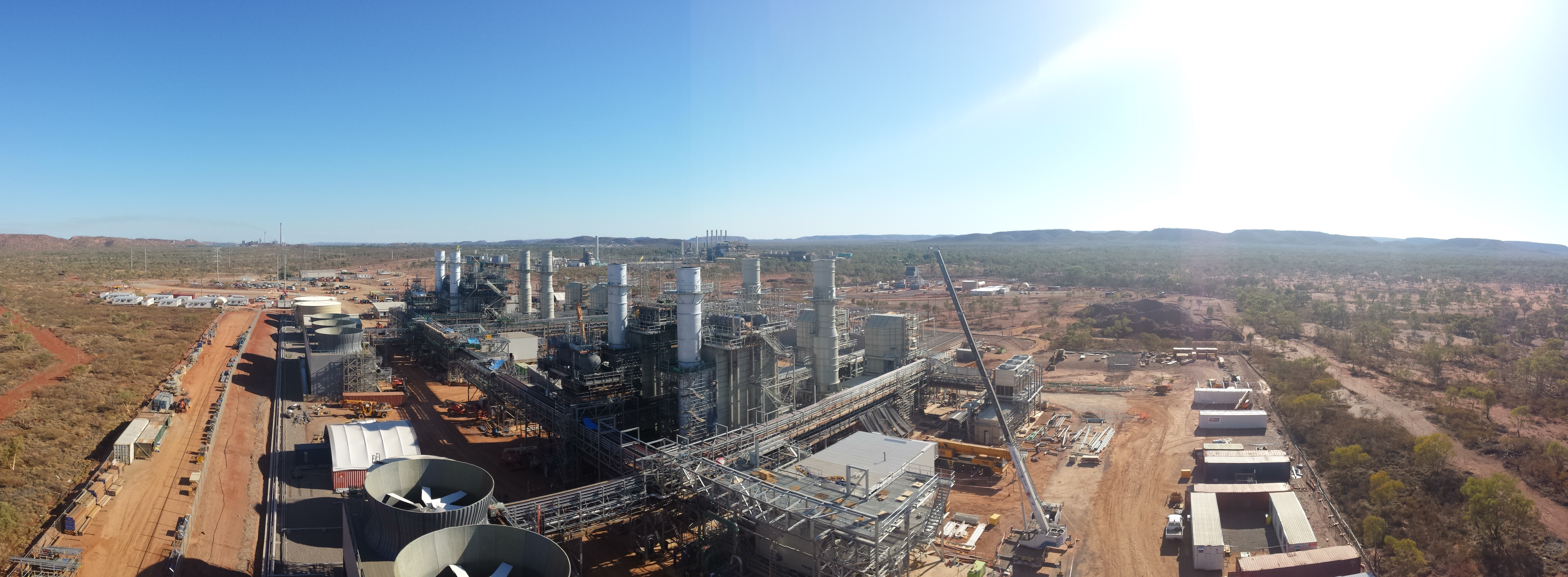 Diamantina Power Station - Sun Engineering Australia