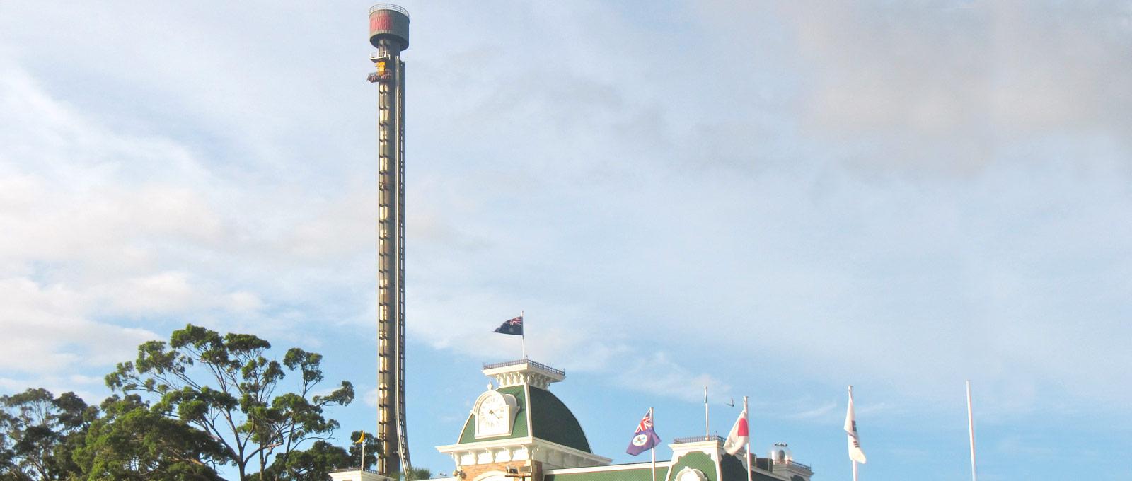 Tower of Terror Dreamworld Gold Coast - Sun Engineering Australia